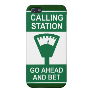 Calling Station iPhone 5 Cover