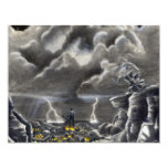 """Calling the Storm 4.25"""" X 5.5"""" Invitation Card"""