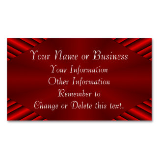 Calliope Christmas Business Card Magnet