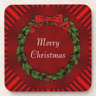 Calliope Christmas Cork Coasters Set of 6