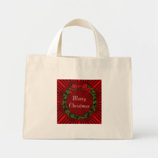 Calliope Christmas Cotton Tiny Tote Bag