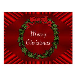 Calliope Christmas Postcard
