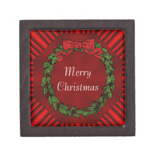 Calliope Christmas Wood Gift Box 2x2 Premium Keepsake Boxes