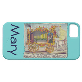 Calliope Circus Poster on Electronics Cases iPhone 5 Covers