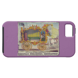 Calliope Circus Poster on Electronics Cases iPhone 5 Cases