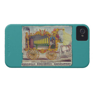 Calliope Circus Poster on Electronics Cases iPhone 4 Case-Mate Case