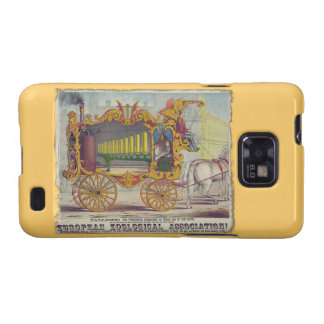 Calliope Circus Poster on Electronics Cases Samsung Galaxy SII Covers