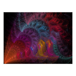 Calliope Fractal Poster