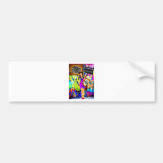 Calliope Girl Bumper Sticker