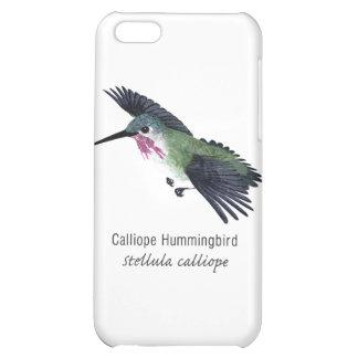 Calliope Hummingbird with Name iPhone 5C Cover