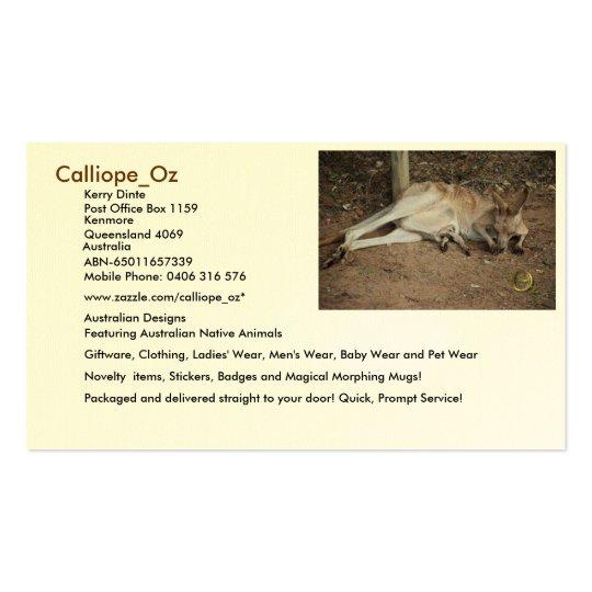 Calliope_Oz Business Cards
