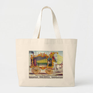 Calliope steam car of the muses jumbo tote bag
