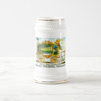 Calliope - Wonderful Operonicon Chromolithograph Beer Stein