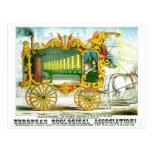 Calliope - Wonderful Operonicon Chromolithograph Post Card
