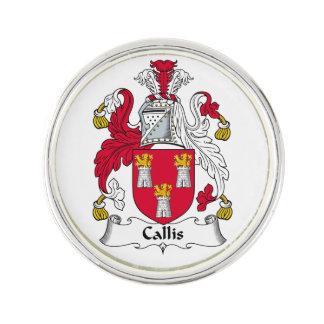 Callis Family Crest Pin