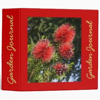 """Callistemon Garden Journal - Avery 2"""" Binder"""