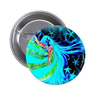 callisto danse néon pinback button