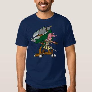 Callous Comics Muscovy Duck and Amami Bunny Tee Shirt