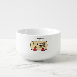 Callous radio soup mug