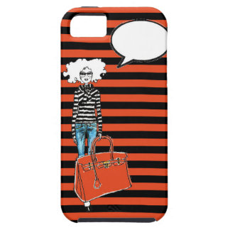 Callout Fashion Girl iPhone 5 Case