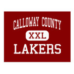 Calloway County - Lakers - Middle - Murray Post Card
