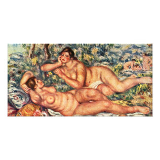 Calm After The Bath By Pierre-Auguste Renoir Picture Card