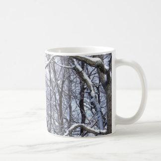 Calm after the snow coffee mug