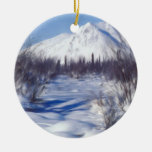 Calm After the Storm Christmas Tree Ornament