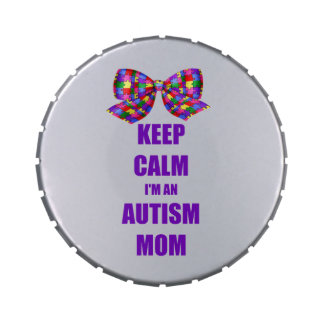 Calm Autism Mom Jelly Belly Tin