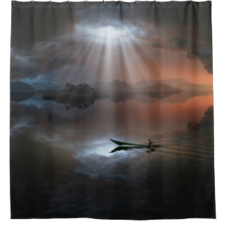 Calm Before Storm Shower Curtain