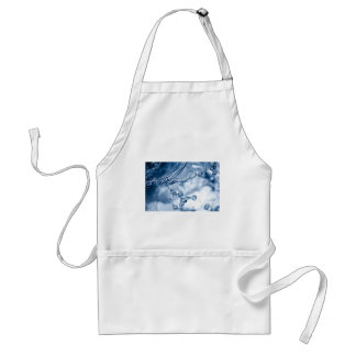 Calm before the storm. adult apron