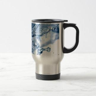 Calm before the storm. travel mug