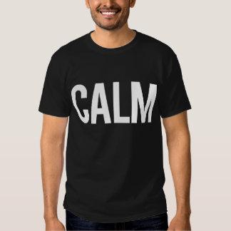 Calm (Black) T Shirts