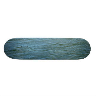 Calm Blue Waters of the Atlantic Skateboard Deck