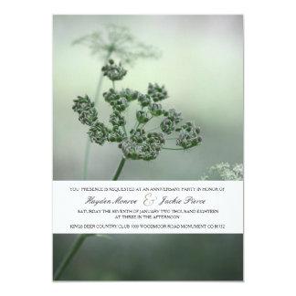 Calm Botanicals | Anniversary Party Invitation