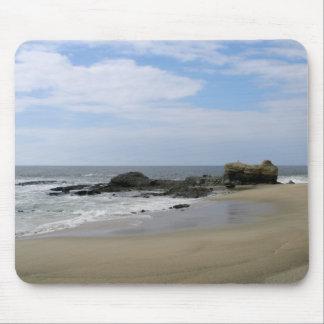 Calm California Beach Mouse Pad