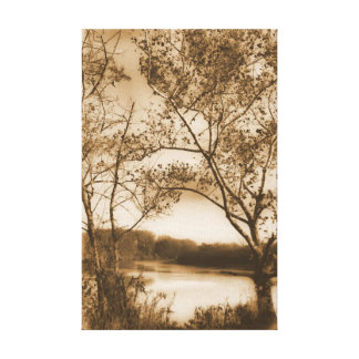 Calm Gallery Wrapped Canvas