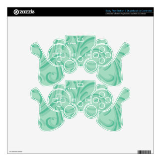 Calm Color Swirls PS3 Controller Skins