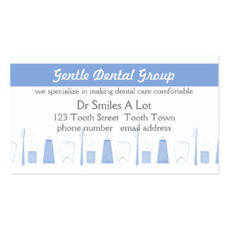 Calm Dental Care Double-Sided Standard Business Cards (Pack Of 100)