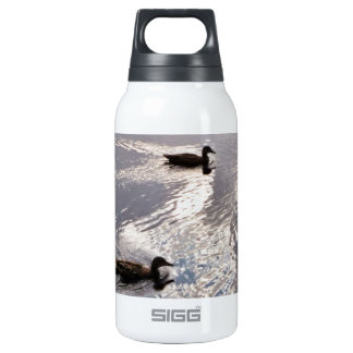 Calm Ducks Before the Storm Thermos Bottle