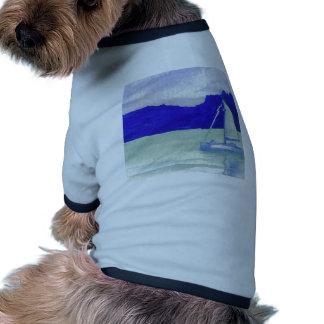 Calm Easy Sailing  CricketDiane Ocean Art Pet Tshirt