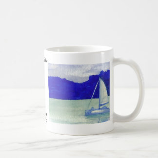 Calm Easy Sailing  CricketDiane Ocean Art Coffee Mugs