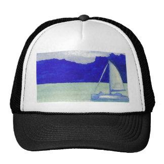 Calm Easy Sailing  CricketDiane Ocean Art Trucker Hat