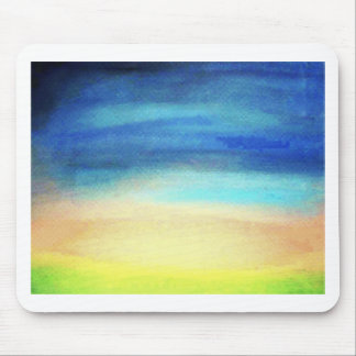 Calm Enhanced Soothing pastel colors Mouse Pad