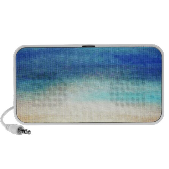 Calm Enhanced Soothing pastel colors Portable Speaker