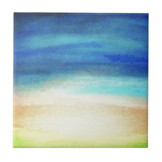 Calm Enhanced Soothing pastel colors Tile