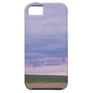 Calm Fields and sunset iPhone SE/5/5s Case