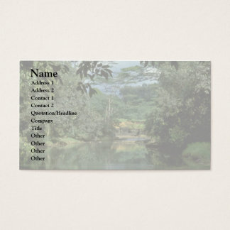 Calm Flow Business Card