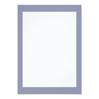 Calm Gray Solid Color Card