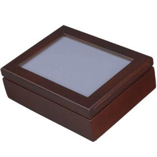 Calm Gray Solid Color Memory Box
